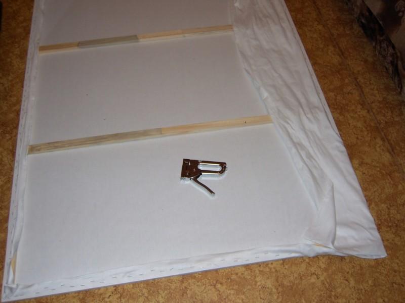 Фото 9: Изготовление экрана с рамой