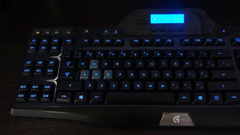 Подсветка букв клавиатуры
