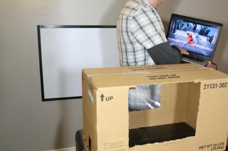 Фото 13: Коробка под монитор ноутбука