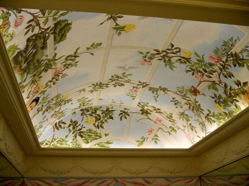 Фото 16: Натяжной потолок с объемным рисунком
