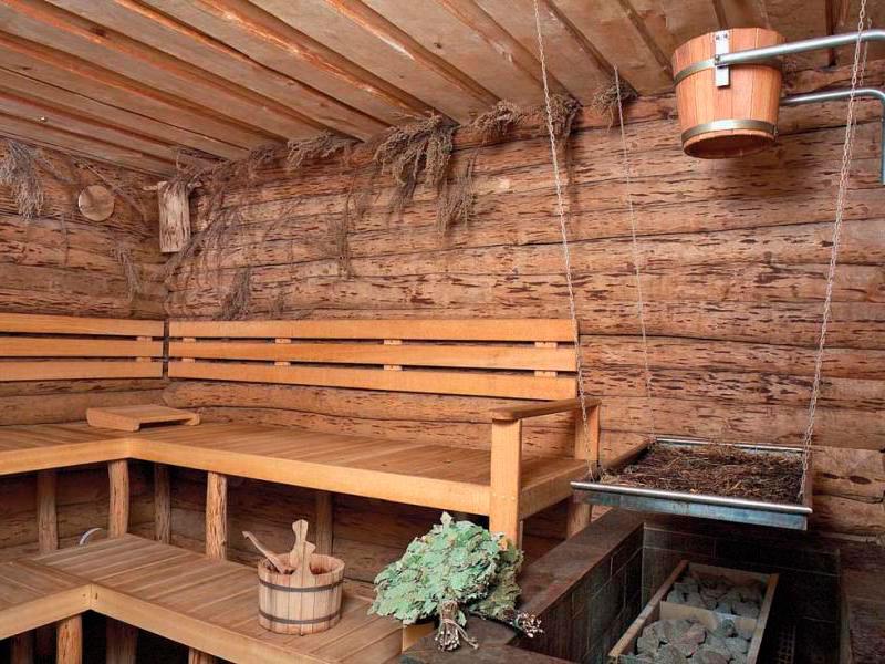 Фото 24: Скамейки для бани