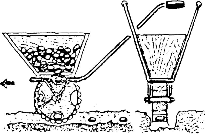 Фото 23: Принцип работы картофелесажалки