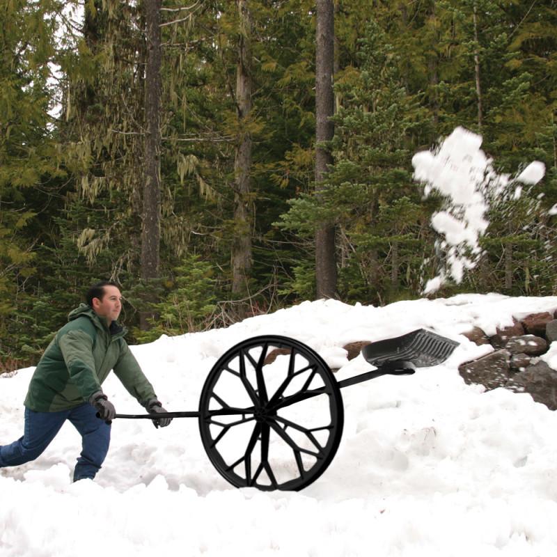 Фото 24: Необычный ручной снегоуборщик