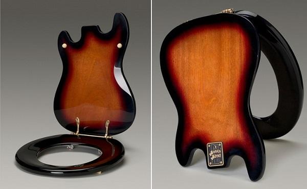 сиденье для унитаза в форме гитары3