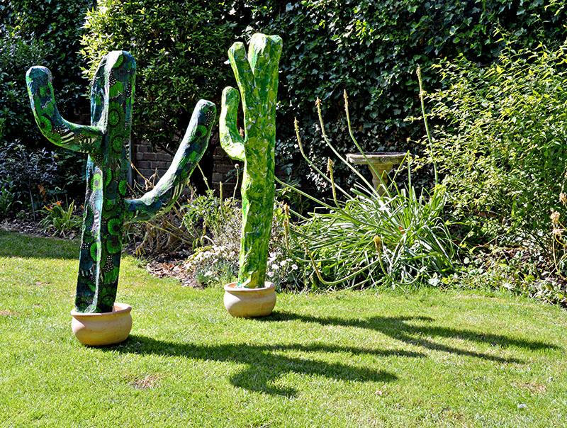 Фигурки для сада своими руками из папье маше