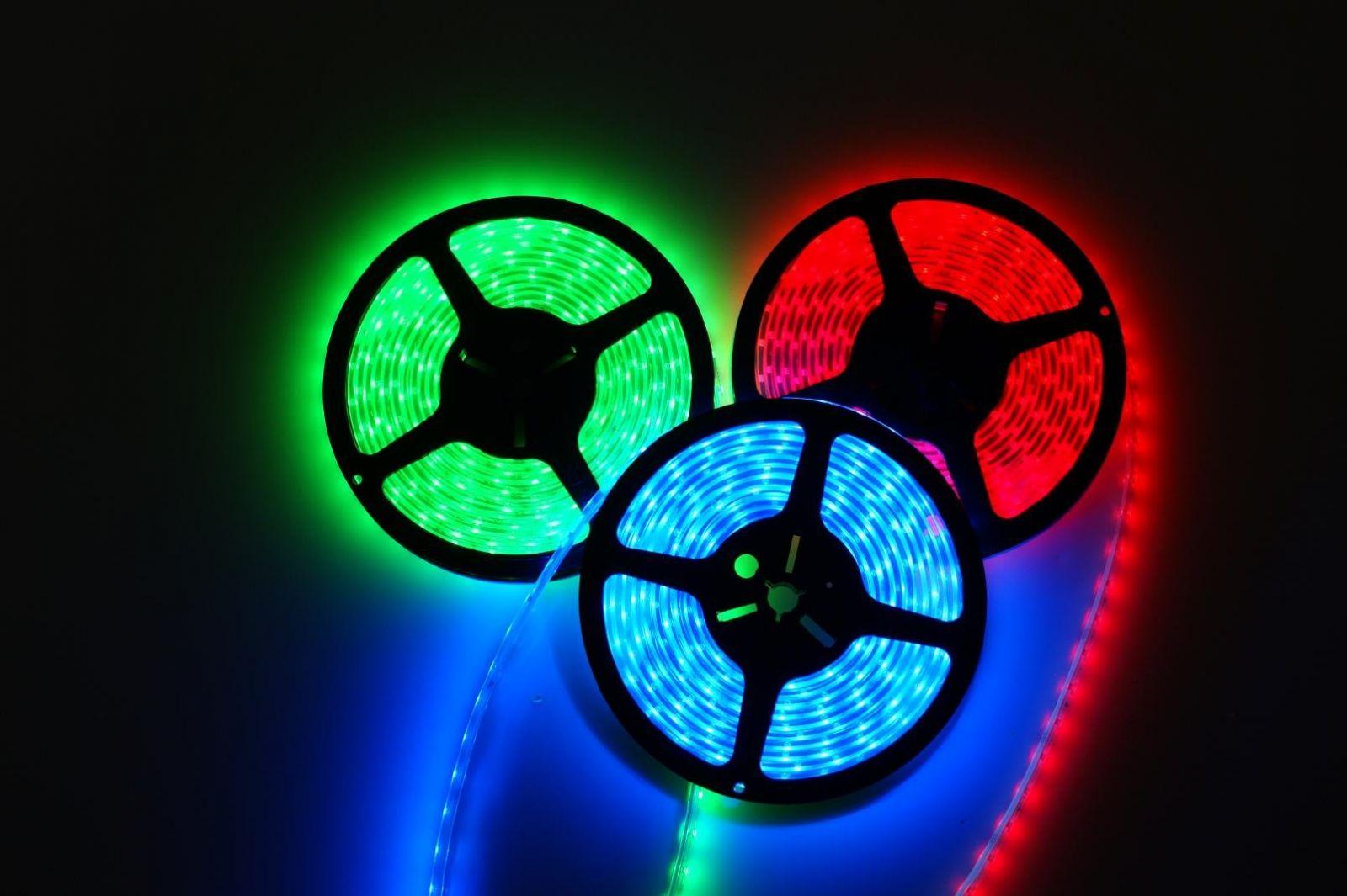 Ленты светодиодные разных цветов