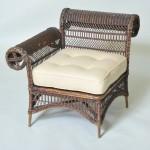 Фото 6: Ротанговый стул с одной ручкой