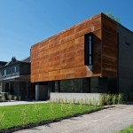 Фото 14: Дом, обшитый сталью «Кортен» (Торонто)