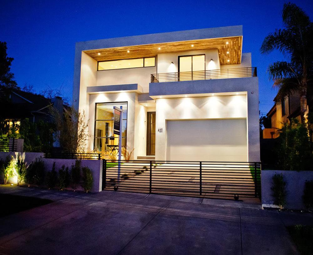 Экологичный дом в западном Голливуде