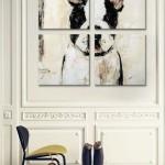 Фото 21: Модульные картины животных для современного стиля интерьера
