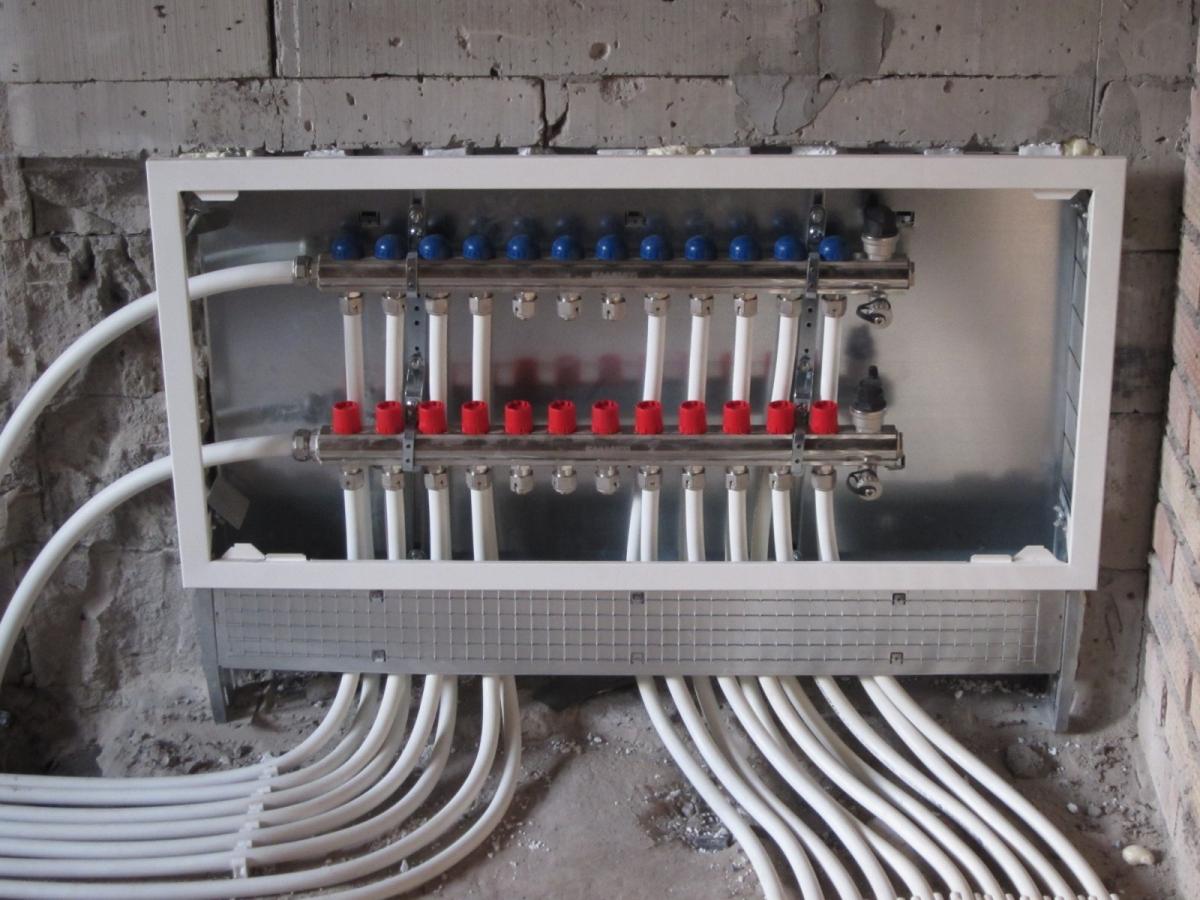 Трубы систем отопления дома