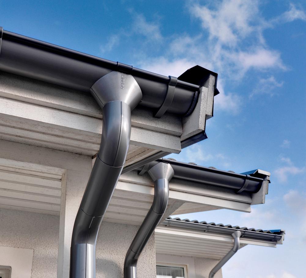 Водостоки для крыш дома