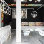 Фото 4: Суши-ресторан, вдохновленный цветовой палитрой японской кухни