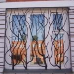 Фото 2: Красивые решетки на окна