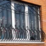 Фото 3: Вариант объемных решеток на окна