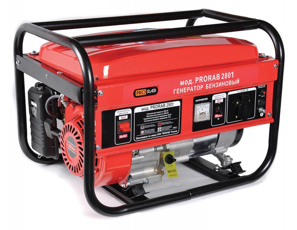 Бензиновый генератор популярная модель