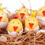 Фото 42: Украшение яиц в виде цыплят
