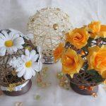 Фото 11: Красивые цветы в декоре
