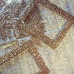 Фото 58: Декор рамки блестками