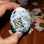 Фото 47: Декупаж яйца газетными вырезками