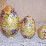 Фото 48: Декупаж яйца -шкатулки
