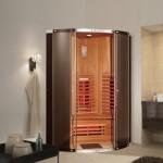 Фото 7: Дизайн ик-сауны в ванной