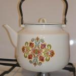 Фото 18: Эмалированный чайник