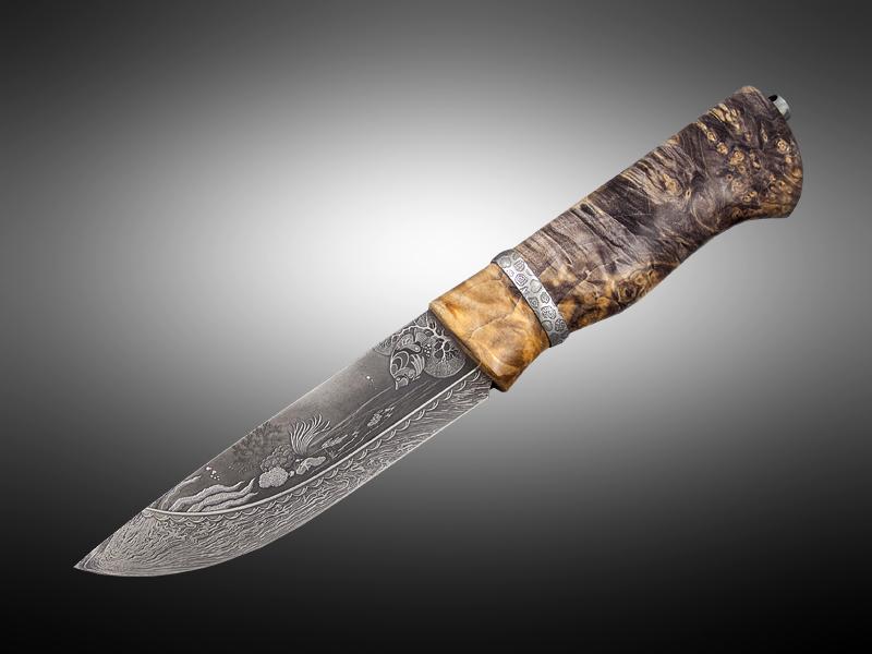 Нож ручной работы клинок
