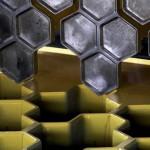 Фото 13: Форма плитки в виде сот