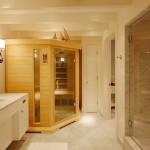 Фото 19: Ик-сауна в ванной