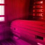 Фото 22: Инфракрасная сауна в работающем состоянии