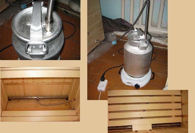 Изготовление и подключение парогенератора