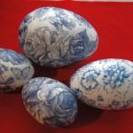 Фото 2: Украшение яиц к пасхе росписью