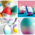 Фото 7: Украшение яиц к Пасхе необычное