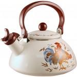 Фото 21: Керамический чайник с росписью
