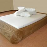 Фото 21: кровать из техноротанга