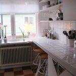 Фото 10: Объединение столешницы и рабочей зоны на кухне