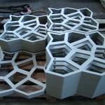 Фото 22: Металлические формы для тротуарной плитки