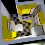 Фото 11: Модель маленькой кухни 3D