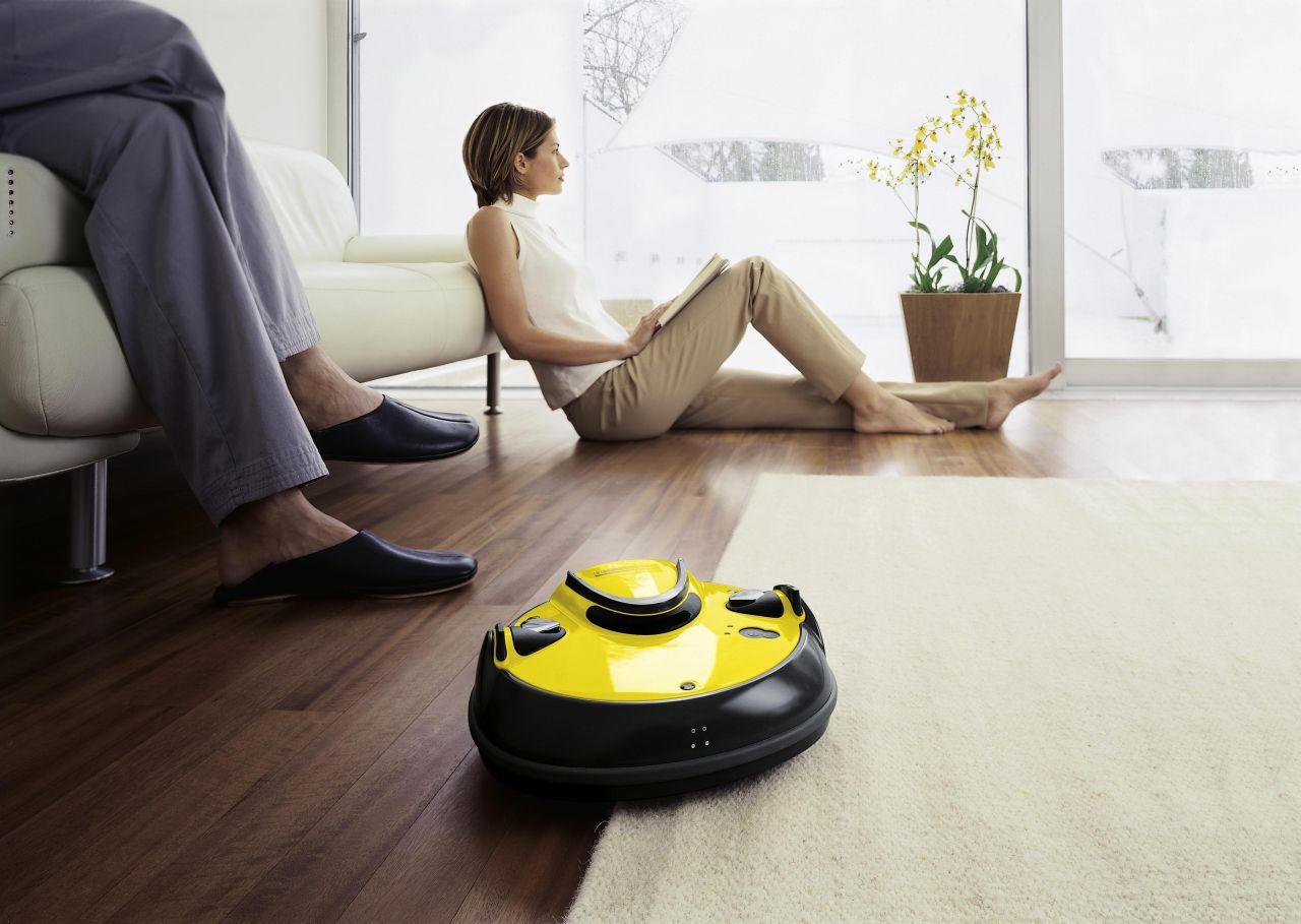 Моющий пылесос-робот