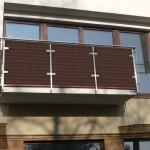 Фото 25: Оформление балкона техноротангом