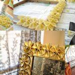 Фото 54: Декор рамки макаронами
