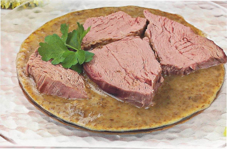 Мясо отварное