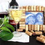 Фото 63: Рамочка из винных пробок