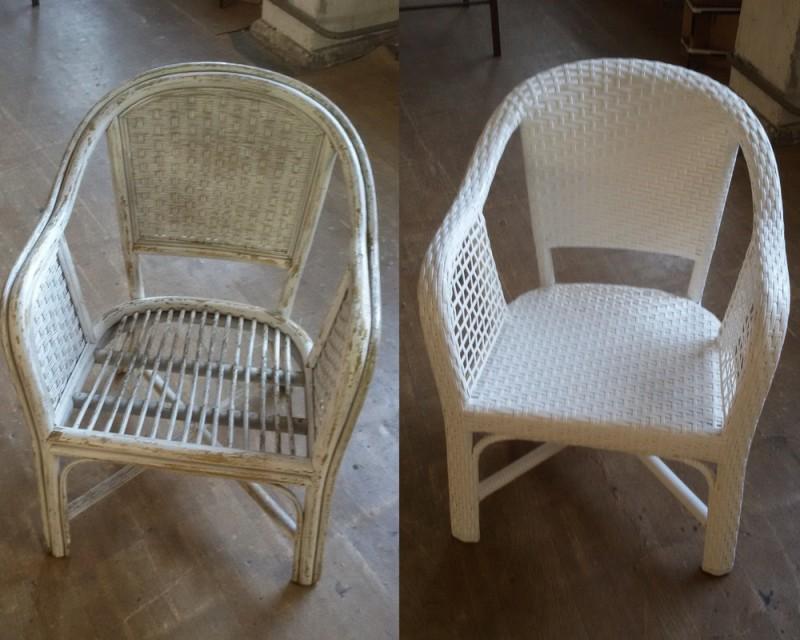 Ремонт ротанговой мебели