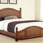 Фото 23: Ротанговая кровать