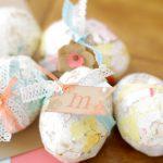 Фото 53: Декупаж яиц с объемными элементами