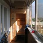 Фото 30: Ик-сауна на балконе