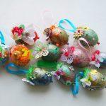 Фото 51: Украшение яиц в тезнике скрапбукинг