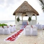 Фото 33: Свадебная островная беседка